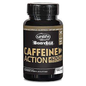 Caffeine Action - 120 cápsulas - Unilife Vitamins