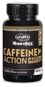 Caffeine Action - 60 cápsulas - Unilife Vitamins