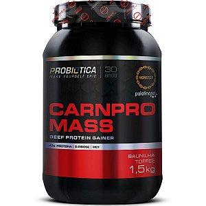 Carnpro Mass - 1500g - Baunilha toffee - Probiótica