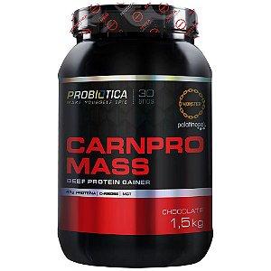 Carnpro Mass - 1500g - Chocolate - Probiótica