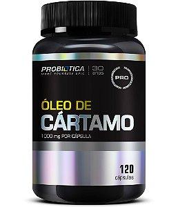 Óleo de Cártamo - 120 cápsulas - Probiótica