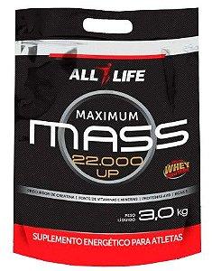 Maximum Mass 22.000 UP - 3000g - Morango - All Life Nutry