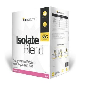Isolate Blend - 2000g - Morango - King Nutri