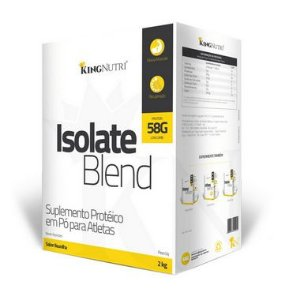Isolate Blend - 2000g - Baunilha - King Nutri