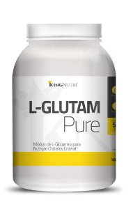 L-Glutam Pure - 1000g - King Nutri