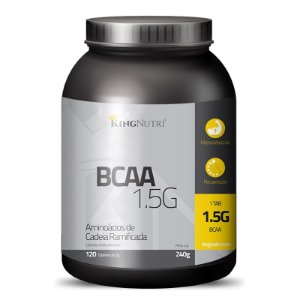 BCAA 1.5G - 120 tabletes - King Nutri