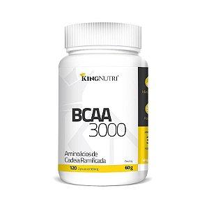 BCAA 3000 - 120 cápsulas - King Nutri