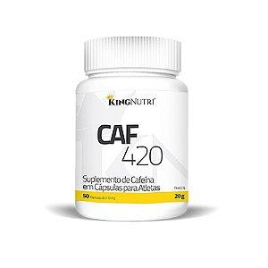 CAF 420 - 50 tabletes - King Nutri
