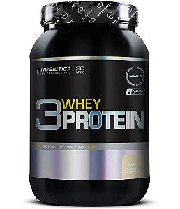 3 Whey Protein - 900g - Baunilha - Probiótica
