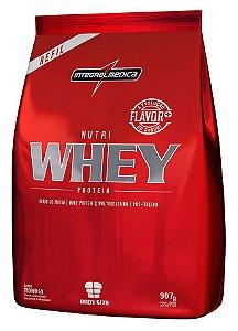 Nutri Whey Protein - Refil 907g - Chocolate - Integralmédica