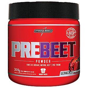 PRE BEET Powder - 300g - Frutas vermelhas - Integralmédica