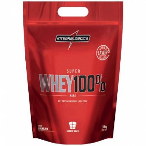 Super Whey 100% Pure - 1800g - Baunilha - Integralmédica