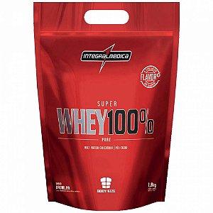Super Whey 100% Pure - 1800g - Morango - Integralmédica