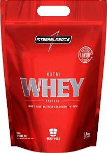 Nutri Whey Protein - 1800g - Baunilha - Integralmédica