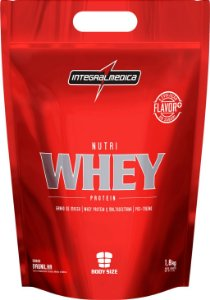 Nutri Whey Protein - 1800g - Morango - Integralmédica