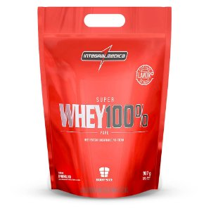 Super Whey 100% Pure - Refil 907g - Chocolate - Integralmédica