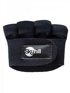 Palmar com dedo - Preto - Tamanho G - Skyhill