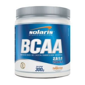 BCAA 2,5:1:1 - 300g - Tangerina - Solaris Nutrition