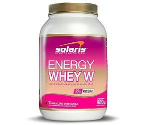 Energy Whey W - 900g - Cappuccino com Canela - Solaris Nutrition