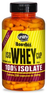 ISO WHEY CAP - 250 cápsulas - Unilife Vitamins