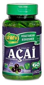Açaí - 120 cápsulas - Unilife Vitamins