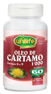 Óleo de Cártamo - 60 cápsulas - Unilife Vitamins
