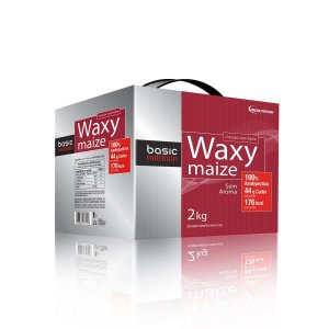 Waxy Maize - 2000g - Sem aroma - Basic Nutrition