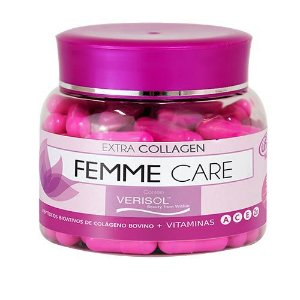 Femme Care Extra Collagen - 90 cápsulas - Unilife Vitamins