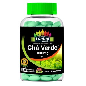 Chá Verde - 180 comprimidos - Lauton Naturals