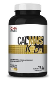Calmais K2 D3 - 90 cápsulas - AMais Naturais