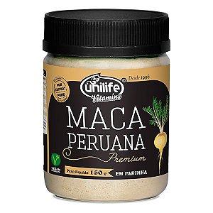 Maca Peruana Premium em Farinha - 150g - Unilife Vitamins