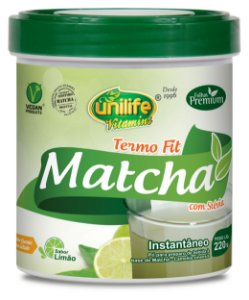 Match Termo Fit - 220g - Limão - Unilife Vitamins