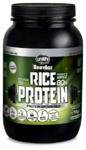 Rice Protein - 1000g - Chocolate - Unilife Vitamins