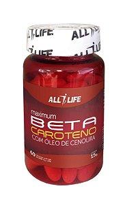 Betacaroteno com Óleo de Cenoura - 60 cápsulas - Unilife Vitamins