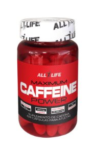 Maximum Caffeine Power - 60 cápsulas - All Life Nutry