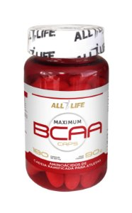 Maximum BCAA Caps - 180 cápsulas - All Life Nutry