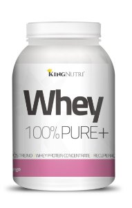 Whey 100% Pure+ - 908g - Morango - King Nutri