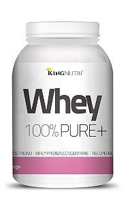 Whey 100% Pure+ - 908g - Morango - King Nutri