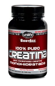 Creatina - 180 cápsulas - Unilife Vitamins