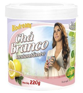 Chá Branco Instantâneo - 220g - Maracujá - Unilife Vitamins