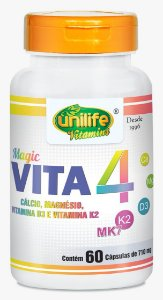 Magic Vita 4 - 60 cápsulas - Unilife Vitamins