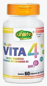 Magic Vita 4 - 60 cápsulas - Unilife Vitamins