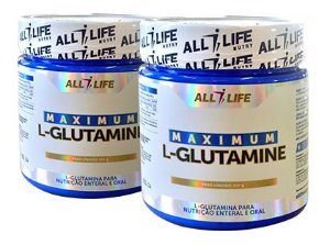 Maximum L-Glutamine - 300g - All Life Nutry