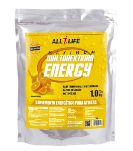 Maltodextrina Energy - 1000g - Laranja - All Life Nutry