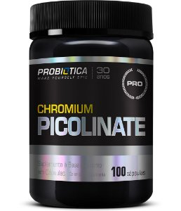 Chromium Picolinate - 100 cápsulas - Probiótica