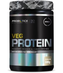 Veg Protein - 600g - Baunilha - Probiótica