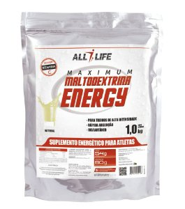 Maltodextrina Energy - 1000g - Natural - All Life Nutry