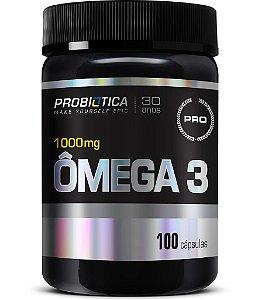 Ômega 3 1000mg - 100 cápsulas - Probiótica