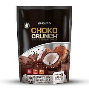 Choko Crunch Shake - 555g - Chocolate com coco - Probiótica