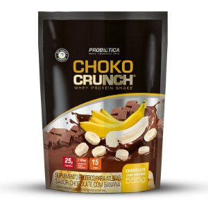 Choko Crunch Shake - 555g - Chocolate com banana - Probiótica